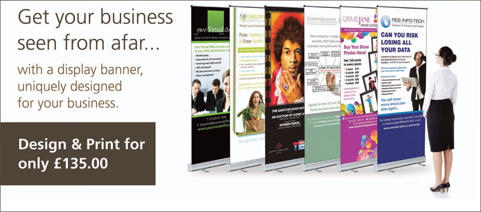 pop up banner design and print